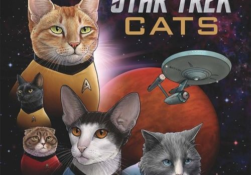 This Book Replaces Star Trek Characters with Cats and It is Nearly Purrfect