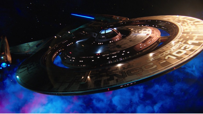 The NCC-1031 USS Discovery