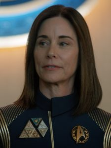 Introduced in The Butcher Cares Not for the Lamb's Cry, Admiral Katrina Cornwell is a force.