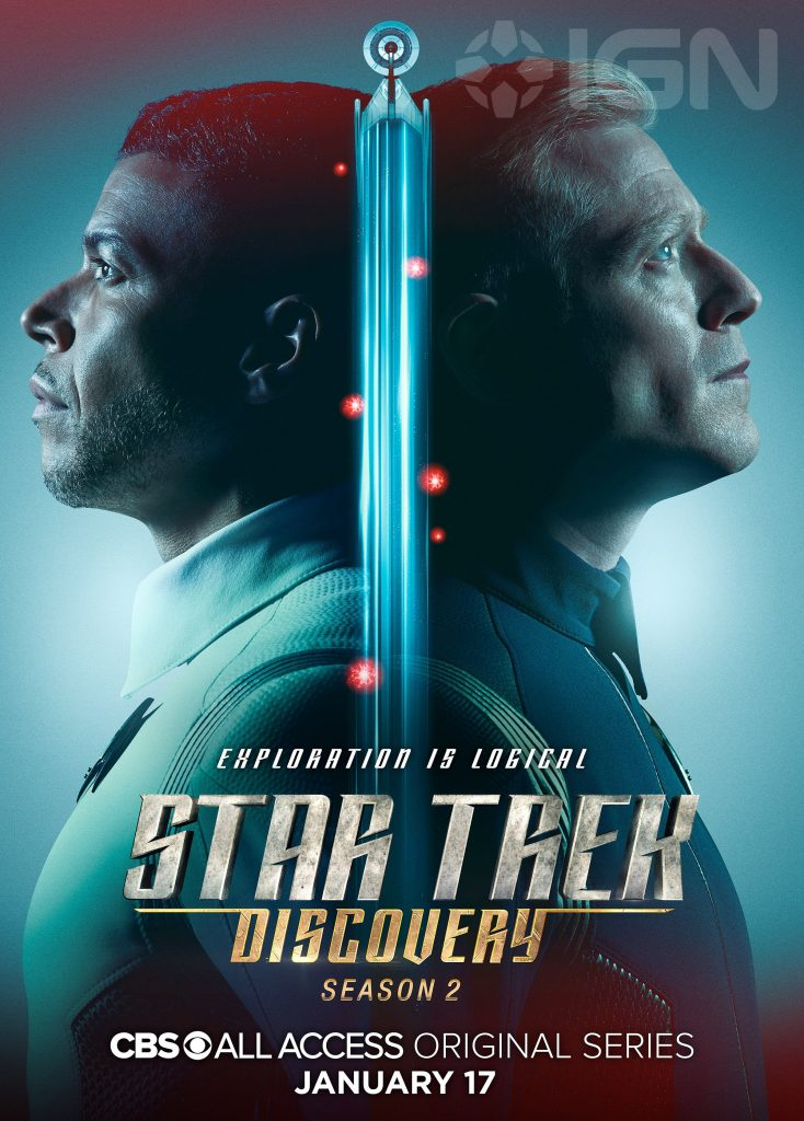 Culber and Stamets on a Star Trek Discovery Season Two teaser poster