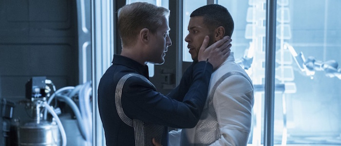 "Stamets giving Culber some love before he does one last jump in ""Into the Forest I Go"""