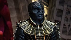 T'Kuvma on board The Ship of the Dead in The Vulcan Hello